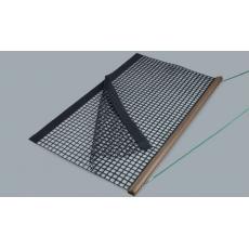 Drveni povlakač - dvostruki PVC